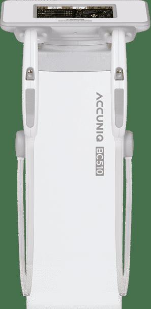ส่วนบน เครื่องวัดวิเคราะห์ส่วนประกอบร่างกาย Accuniq bc510