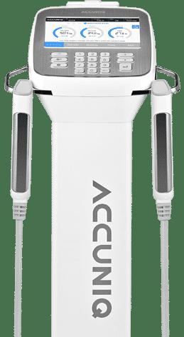 หน้าจอ เครื่องวัดวิเคราะห์ส่วนประกอบร่างกาย Accuniq bc380