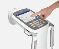 จอ Touch Screen เครื่องวัดวิเคราะห์ส่วนประกอบร่างกาย Accuniq bc380